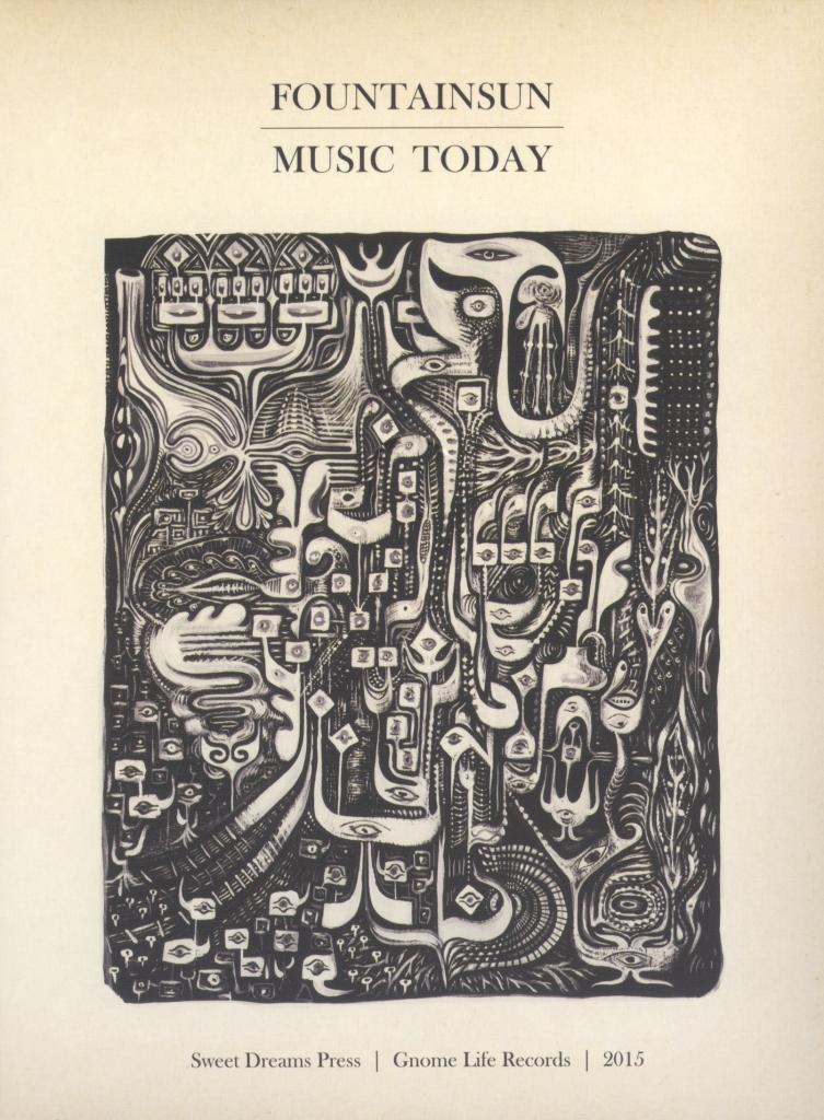 "Fountainsun ""Music Today"" CD jewel case."