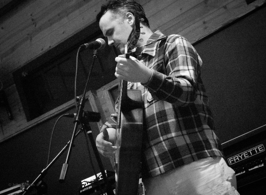 Phil Elverum as Mount Eerie, playing live in 2017 in Anacortes.