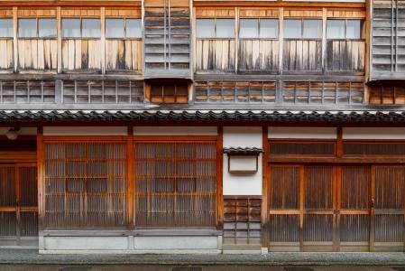 Old building in Japan.