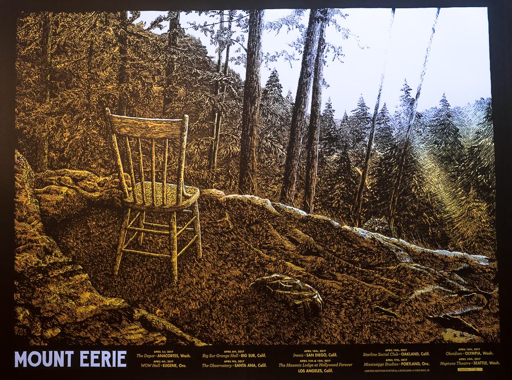 Mount Eerie tour poster