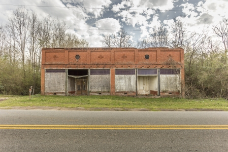 Old abandoned store.