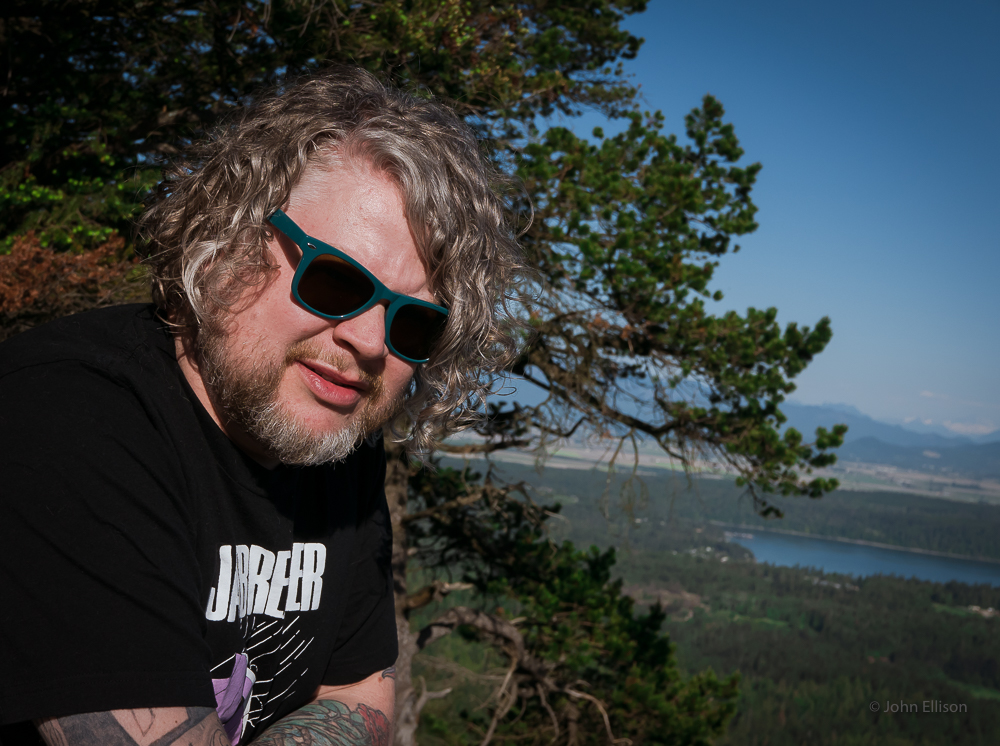 Russell James on Mount Erie in Anacortes, Washington