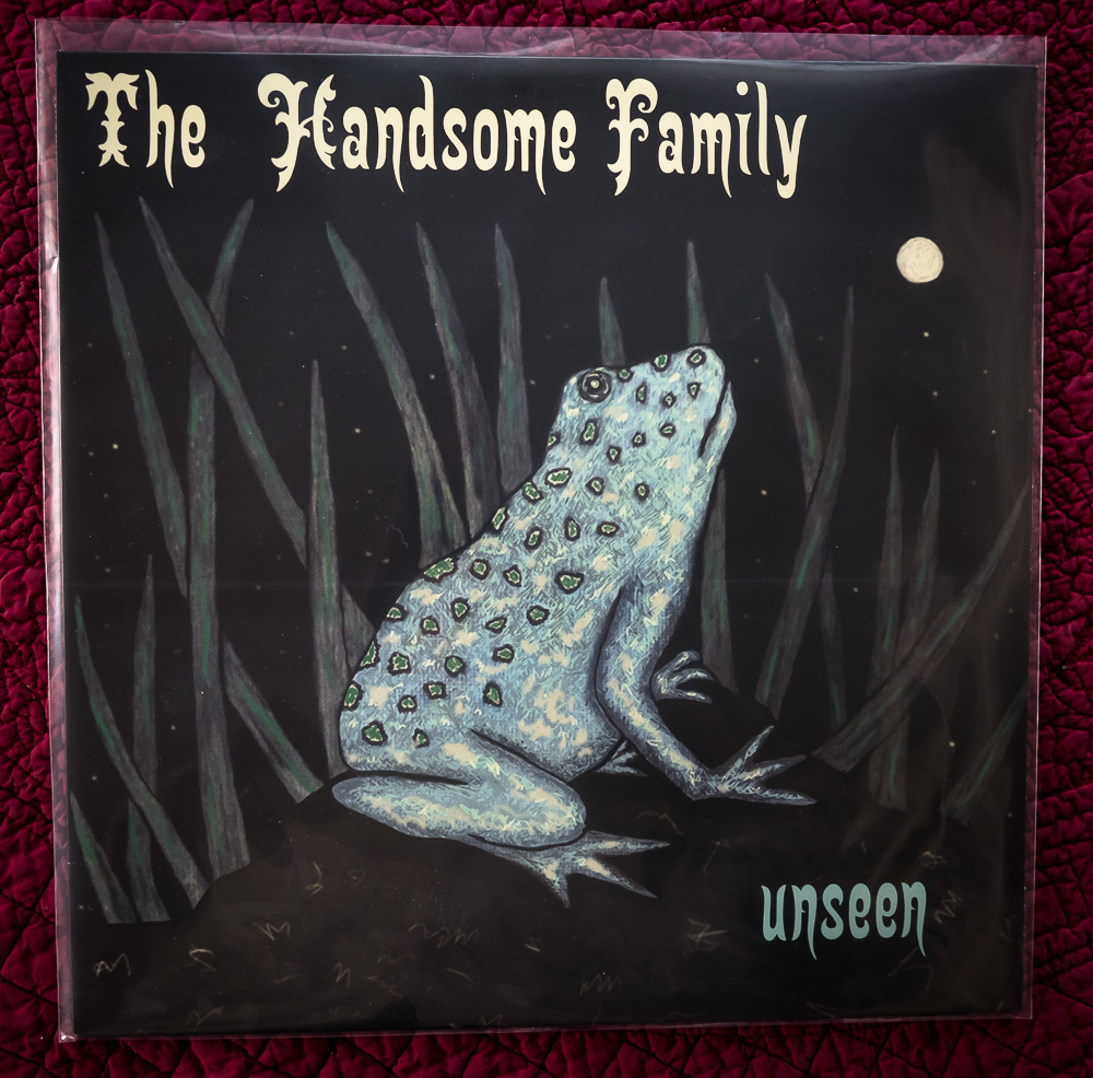 The Handsome Family Unseen LP cover