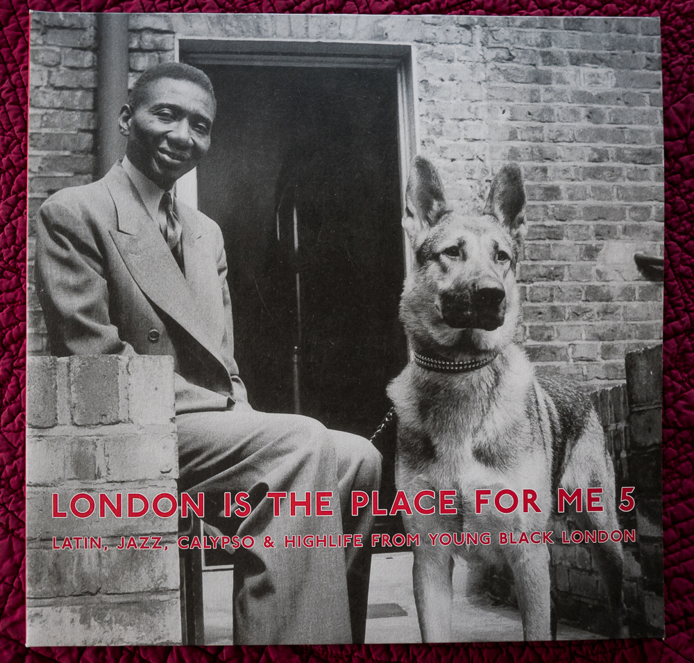 London is the Place for Me LP cover