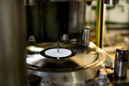 vinyl record pressing plant