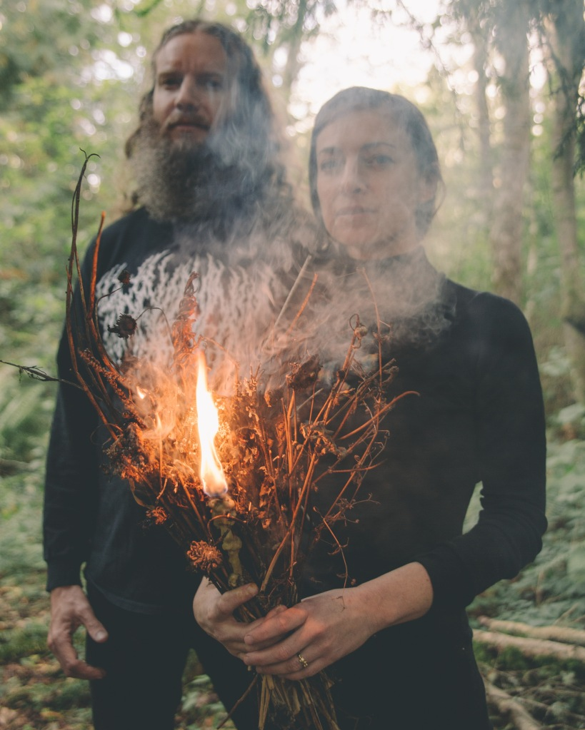 Faith Coloccia and Aaron Turner of Mamiffer