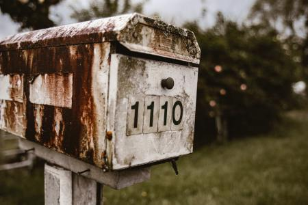 Old mailbox in the county side.