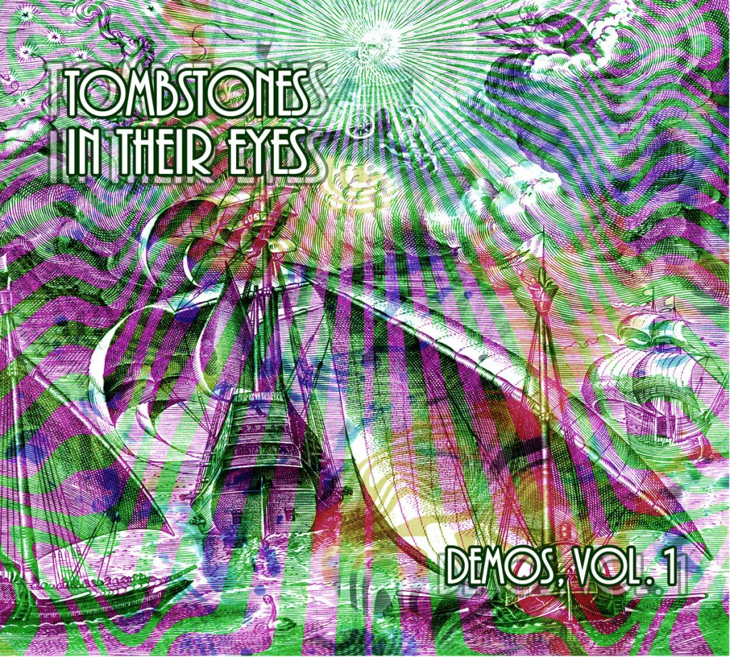 Tombstones In Their Eyes LP artwork.
