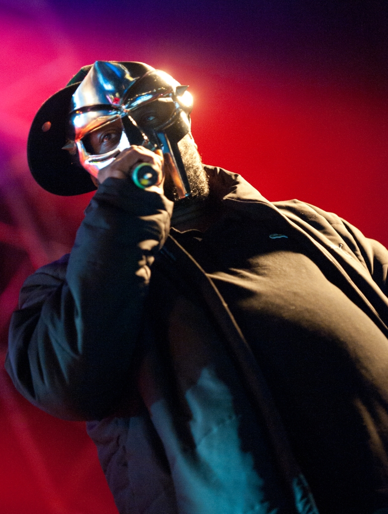 MF DOOM performing at Hultsfred Festival, 2011.